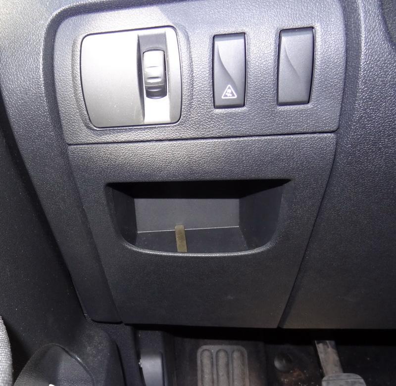 Scenic 3 под водительским